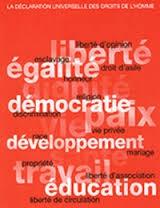 """Résultat de recherche d'images pour """"Déclaration des droits de l'Humanité"""""""